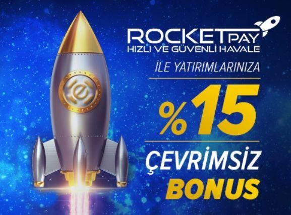 RocketPay Bonusu
